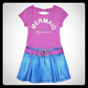 Girls Daphne Mermaid Dress